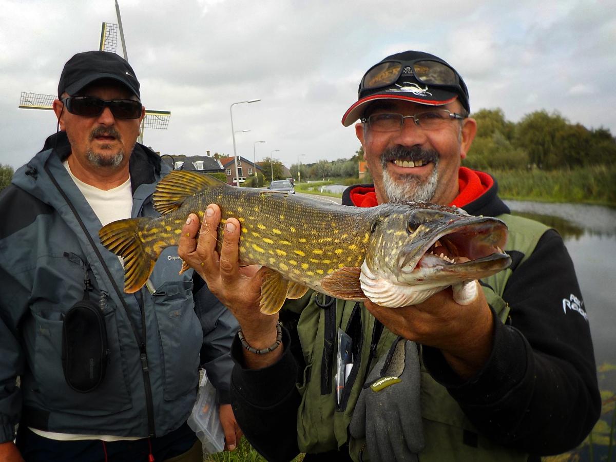 Pêche en Hollande méridionale