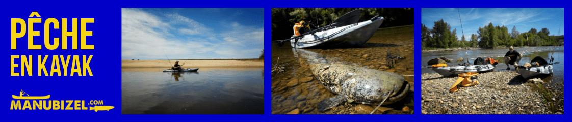 Moniteur guide de pêche en kayak