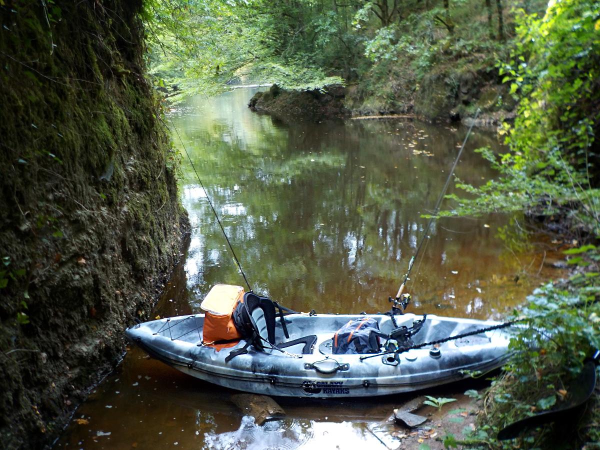 Stage de pêche en kayak