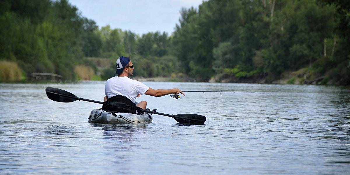 Guide de pêche en kayak