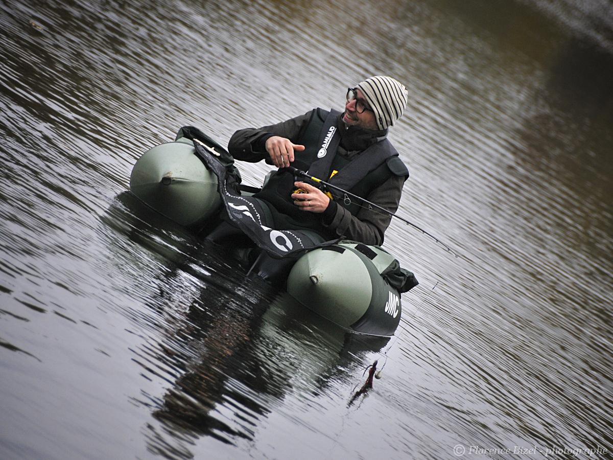 Stages de pêche float-tube