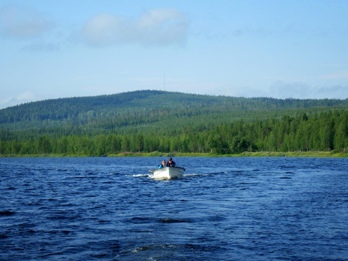 Séjour de pêche en Suède, paysage
