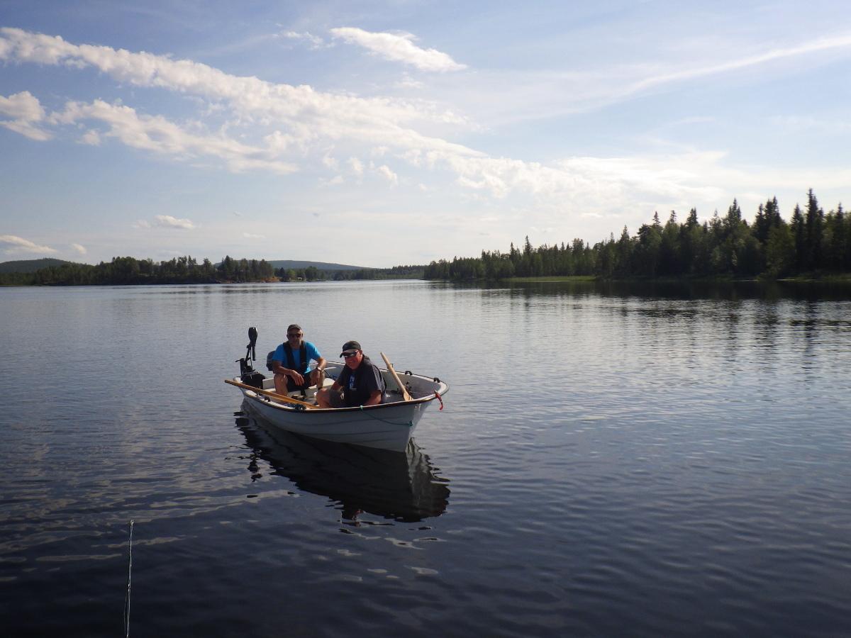 Séjour de pêche en Suède, paysages