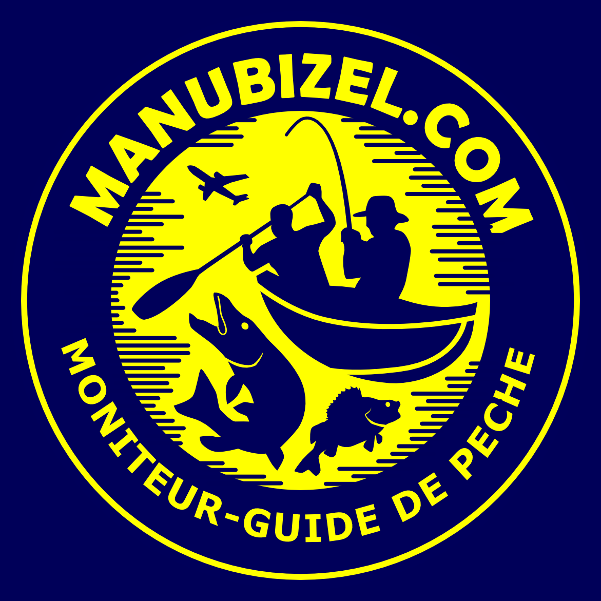 Manu Bizel moniteur guide de pêche