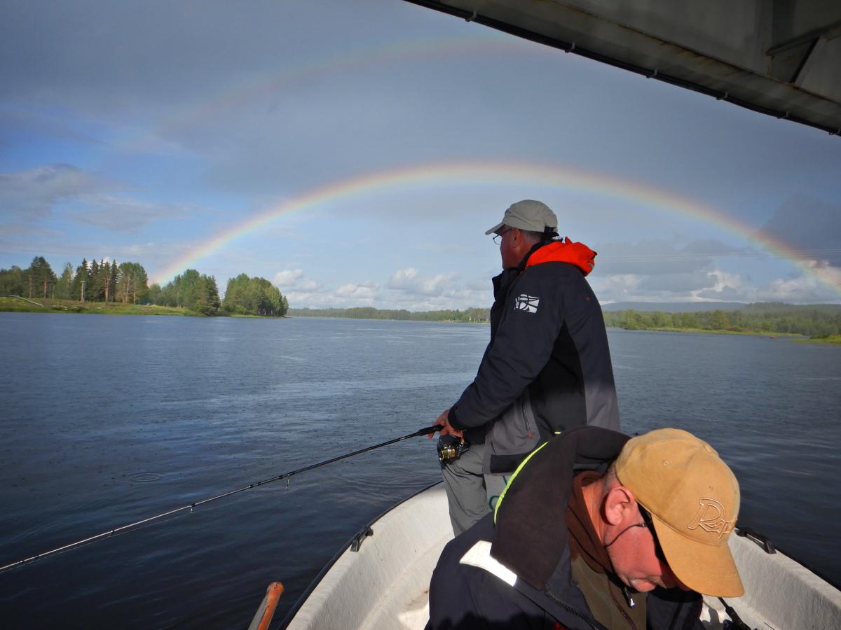 Séjours de pêche en Laponie