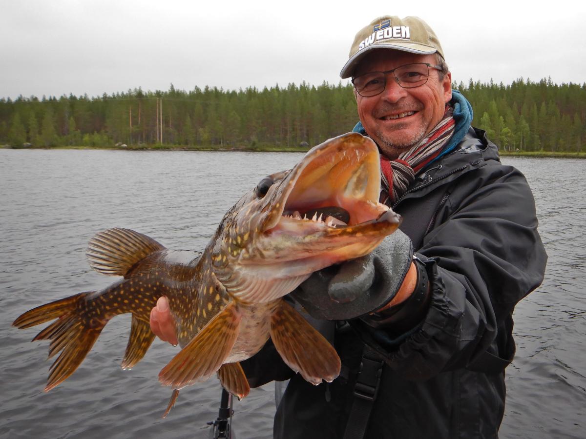Manu Bizel, moniteur guide de pêche