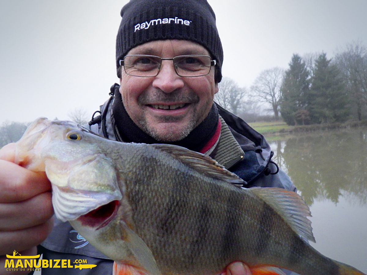 Manu BIZEL, moniteur guide de pêche Allier 03