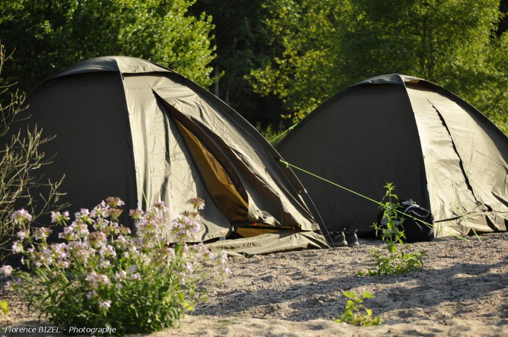 Safari pêche sous tente