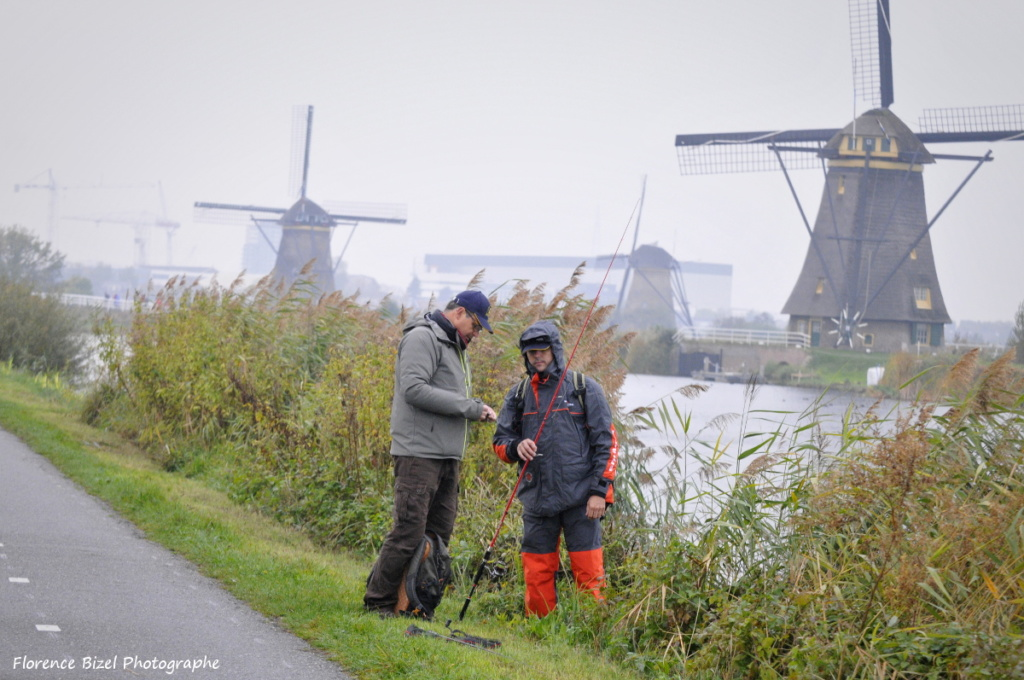 Manu Bizel guide de pêche en Hollande