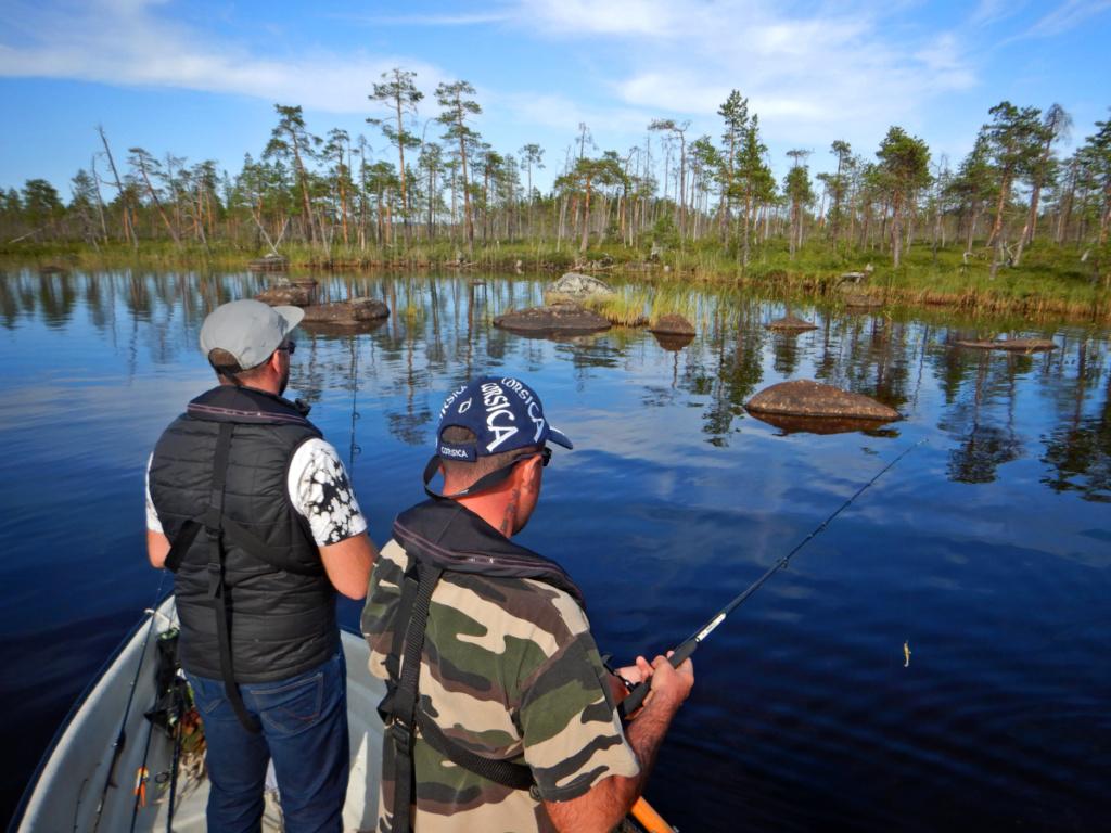Séjour de pêche en Laponie suédoise