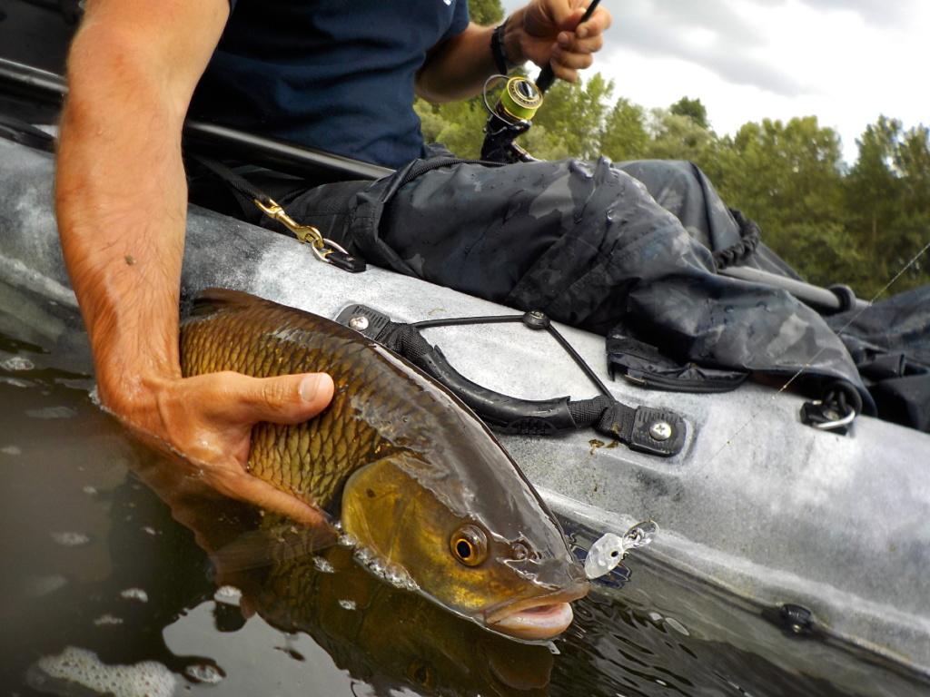 Pêche en kayak aux leurres