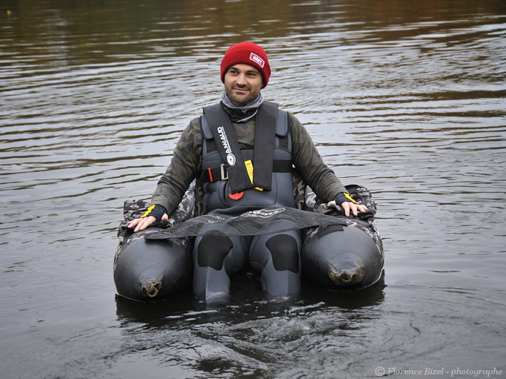 Stage de pêche en float-tube