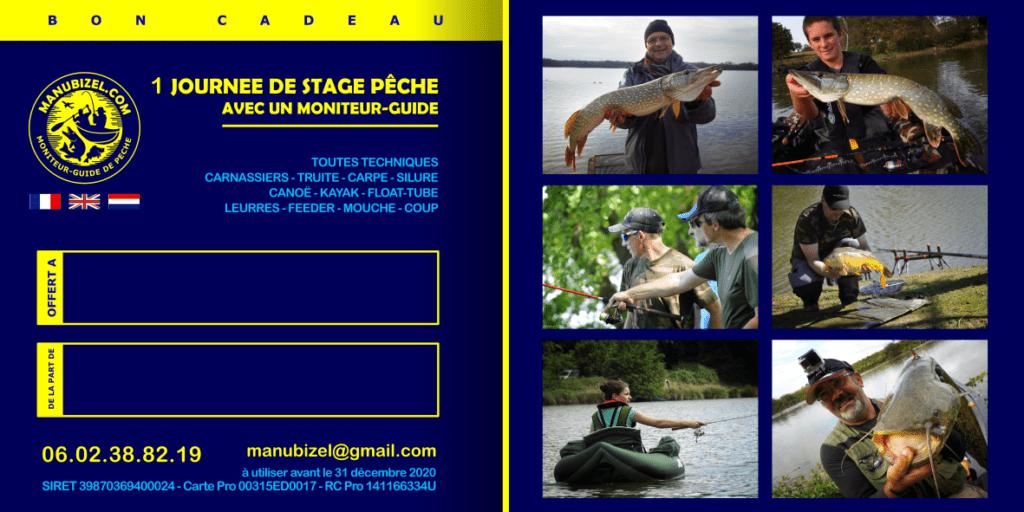 Bon cadeau guide de pêche