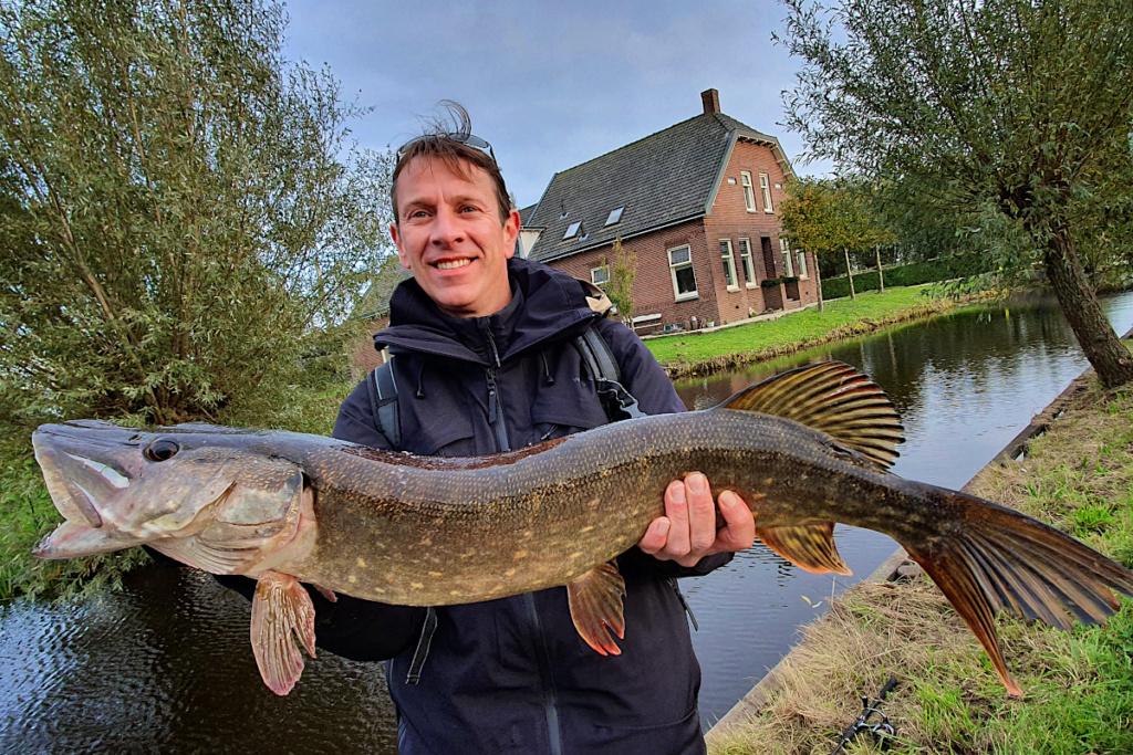 Séjour de pêche au brochet en Hollande